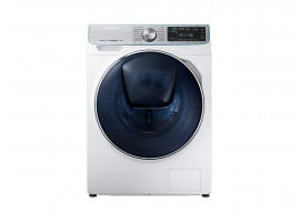 Стиральная машина Samsung WW90M74LNOA с QuickDrive, 9 кг,1400 об./мин, с паром, AddWash, EcoBubble, белый